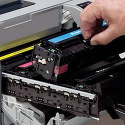 Картриджі для лазерних кольорових принтерів