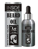 Масло для бороды с феромонами Inside Beard Oil Silver