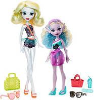 Лагуна Блю і Келпі Блю Monster High Monster Family Lagoona Blue and Kelpie Blue Dolls, 2 Pack