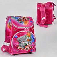 Рюкзак школьный N 00155 (30) 2 кармана, спинка ортопедическая, ножки пластиковые
