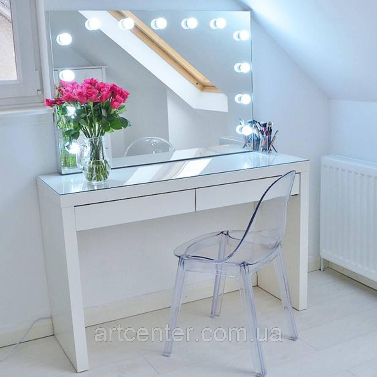 Стол для визажиста, лаконичный туалетный столик, гримерный столик