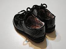 Туфли лаковые детские  черные из еко лака 22-28 р., фото 3