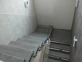 Скляні огорожі сходів