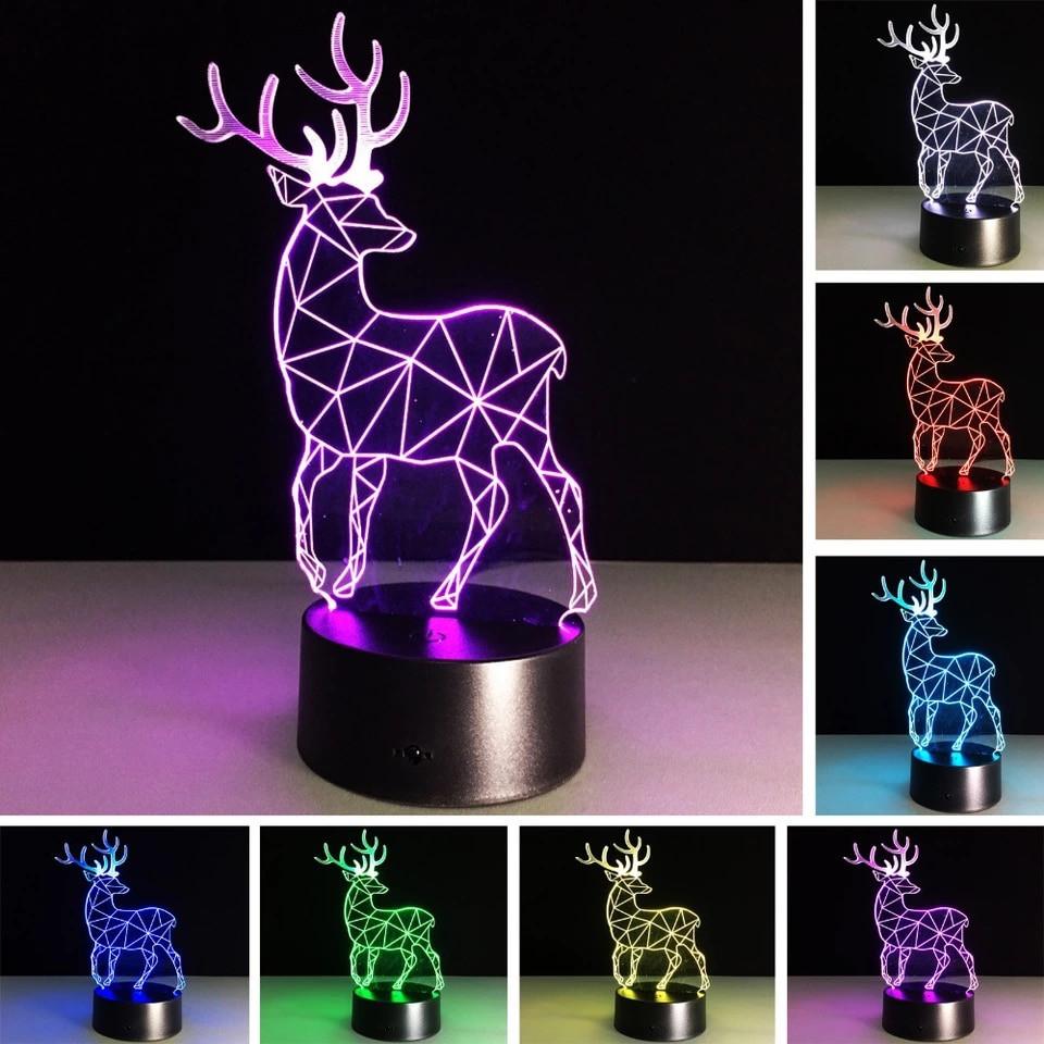 ночник Led ночник 3d ночник 3d Toys Lamp в категории детские