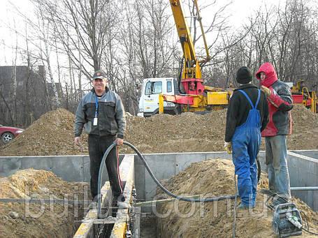 Заливка бетонных стен, фото 2