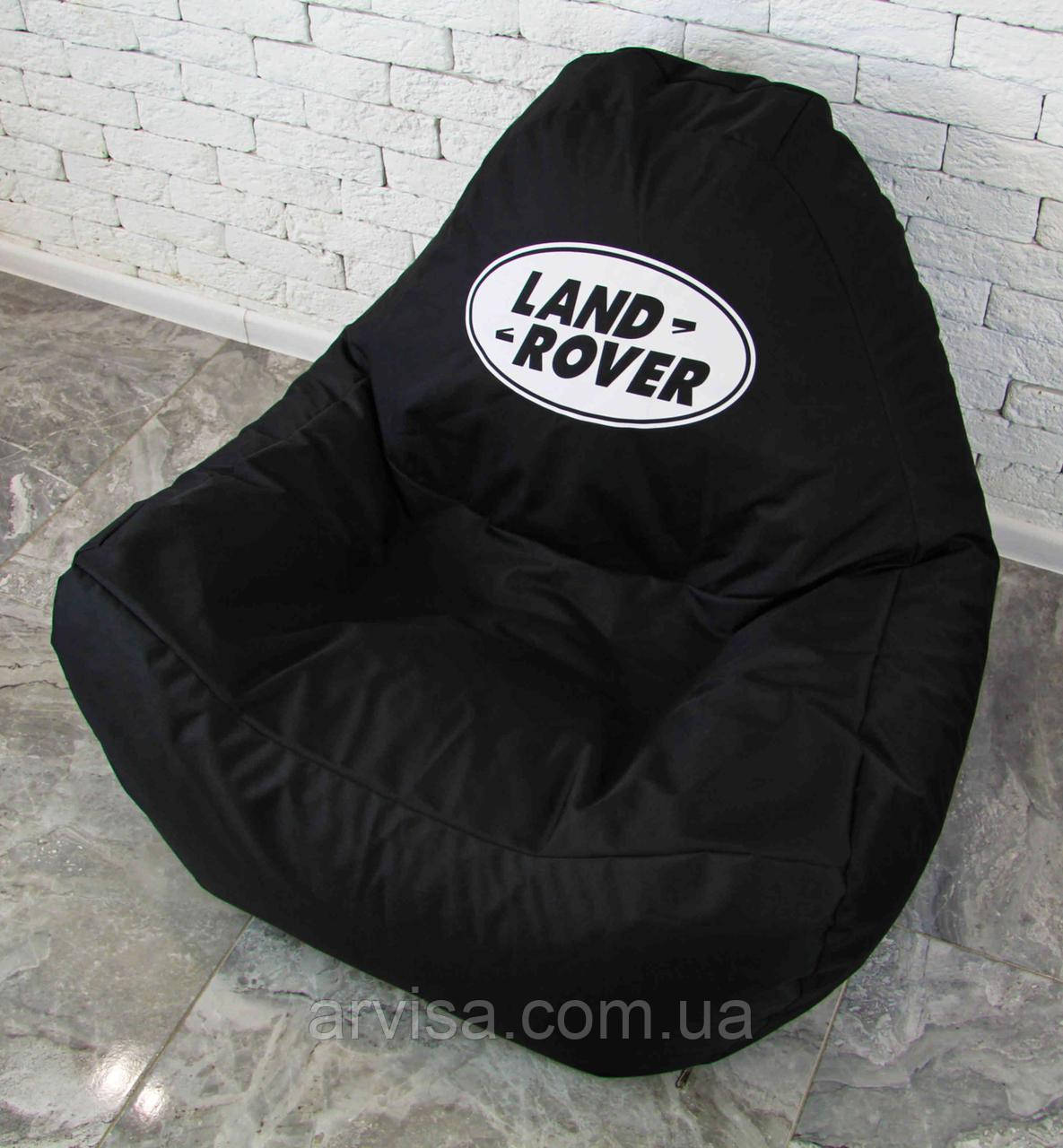 Бескаркасное кресло мешок диван ланд ровер Land rover