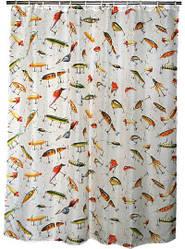 Занавесь для душа Riversedge Lure Shower Curtain высота 2.15 м.
