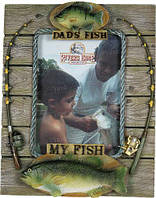 Фоторамка Riversedge Dad's Fish Frame 4' x 6'