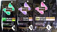 "Маска для лица и шеи ""Против морщин"" увлажняющая Dizao Black Gold Anti-Wrinkles Sturgeon Roe Nourishing Mask"