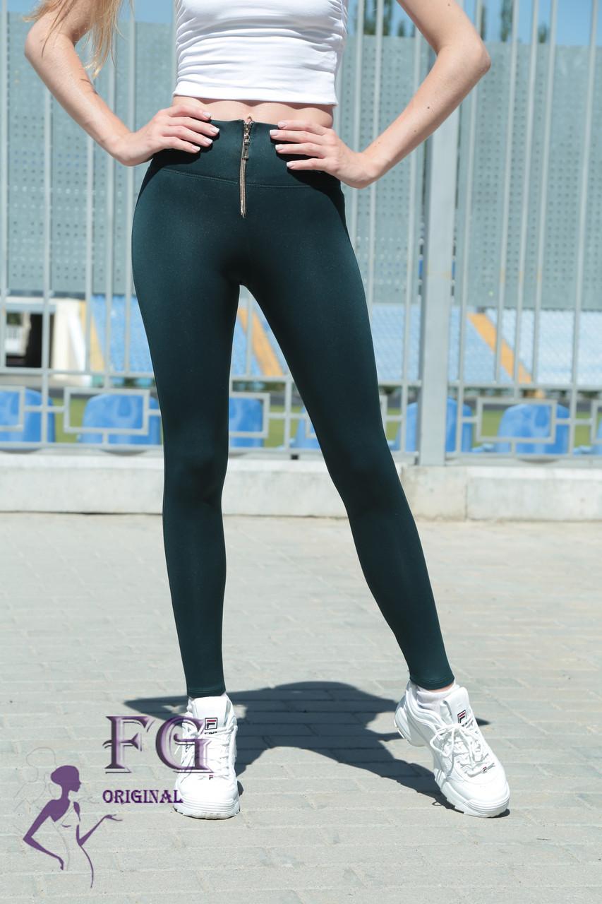 Модные женские лосины Roxy. Зеленый - Интернет магазин