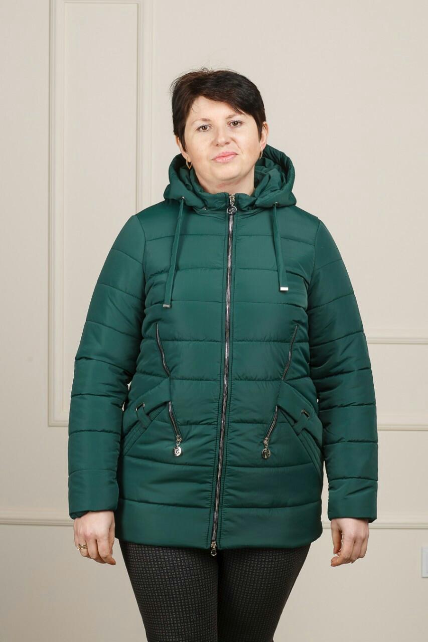 33c0d1c5a74 Батальная женская демисезонная куртка (50-58)