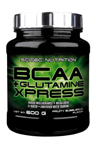 Scitec Nutrition BCAA+Glutamine Xpress 600 г , 50 порций. ВСАА , аминокислоты,глютамин.