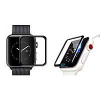 Защитное стекло для Apple Watch 3D Full Glue 42mm ( Полная проклейка)
