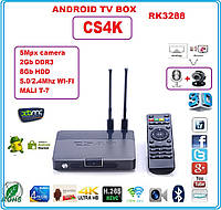 CS4K RK3288 NEW 2015 Android tv 4ядра 2гб DDR3 LAN USB+AV+ПУЛЬТ+НАСТРОЙКИ I-SMART