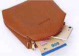 Трендова жіноча сумка JingPin 4 в 1 колір Чорний (сумка + клач +гаманець, косметичка+візитниця) AB-2, фото 5
