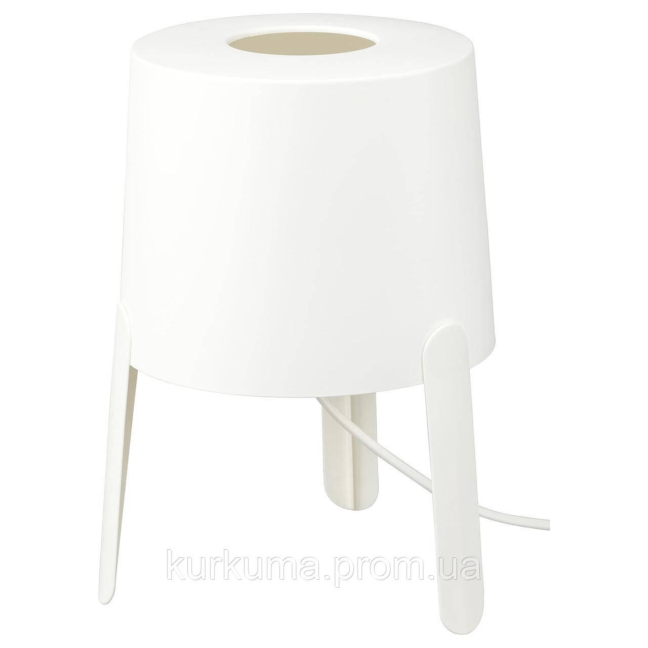 IKEA TVARS Наcтольная лампа, белый  (203.561.36)