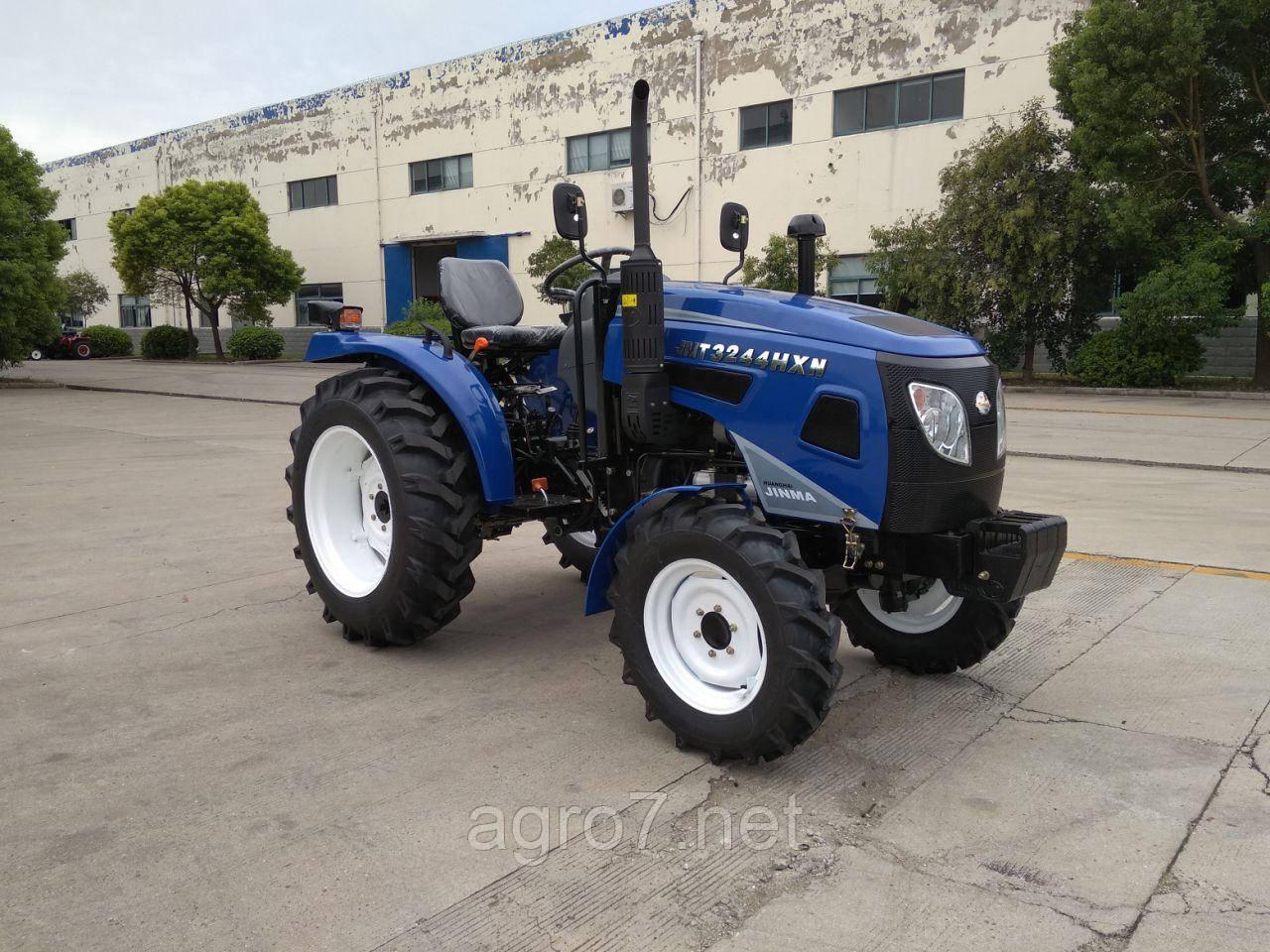 Трактор с доставкой JINMA JMT3244HXN (3 цил., 24л.с. 2019г)