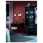 IKEA ARSTID Настенный светильник, никелированный, белый  (601.638.76), фото 3