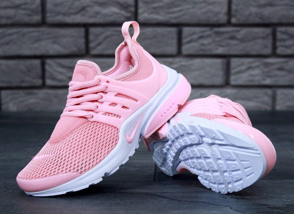 24feeee2 Женские кроссовки Nike Air Presto. Розовые. Текстильная сетка - Интернет-магазин