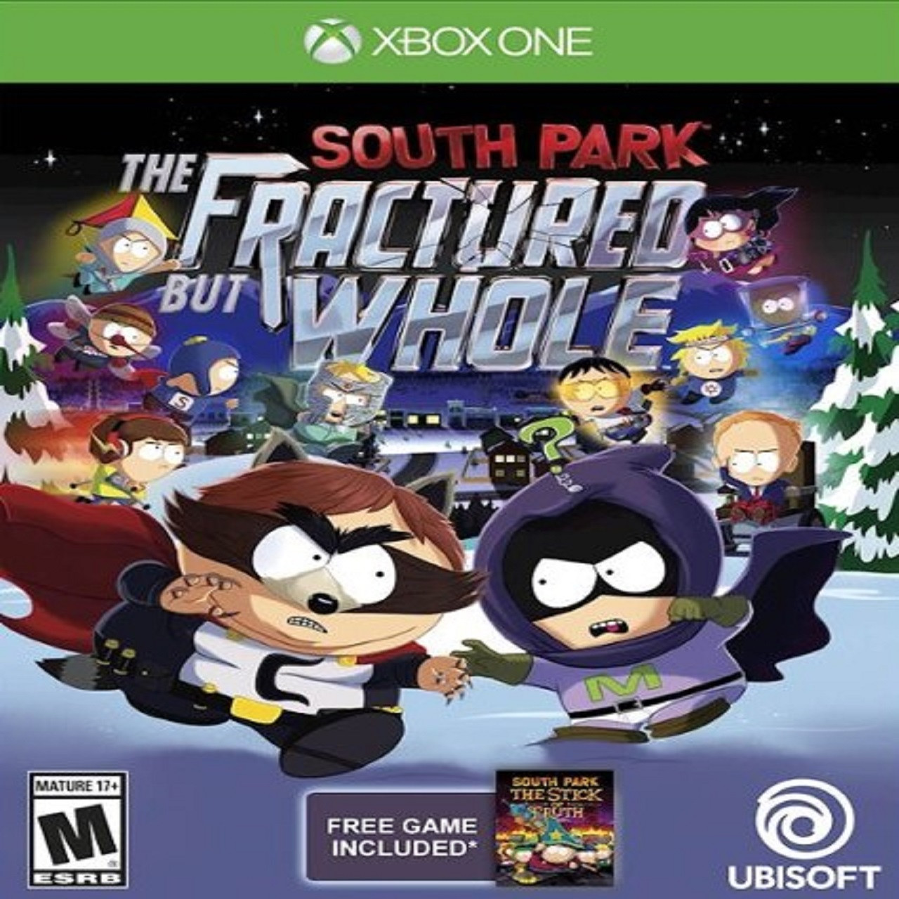 South Park The Fractured But Whole ENG Xbox One (Б/В)