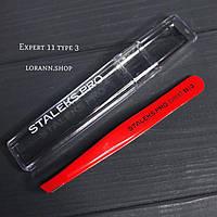 Пинцет для бровей Сталекс Pro Expert 11 Type 3, фото 1