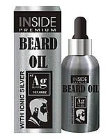 Масло для бороды с феромонами Inside Beard Oil Silver, фото 1