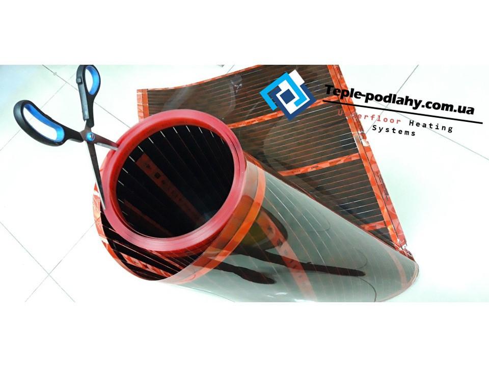 Инфракрасная нагревательная плёнка Rexva XT-308 PTC (под ламинат), размером 0.80 х 0.75 отрезная