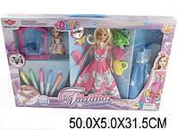 Кукла, типа Барби, с набором модельера (6628-7)
