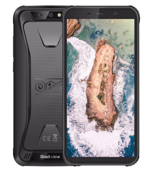 """Защищенный противоударный неубиваемый смартфон Blackview Bv5500 - IP68, MTK6580, 2/16 GB, 5,5"""" IPS, 4400 mAh"""