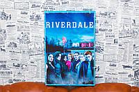"Картина на холсте ""Ривердэйл. Riverdale. Сериал"" 30х45 см."