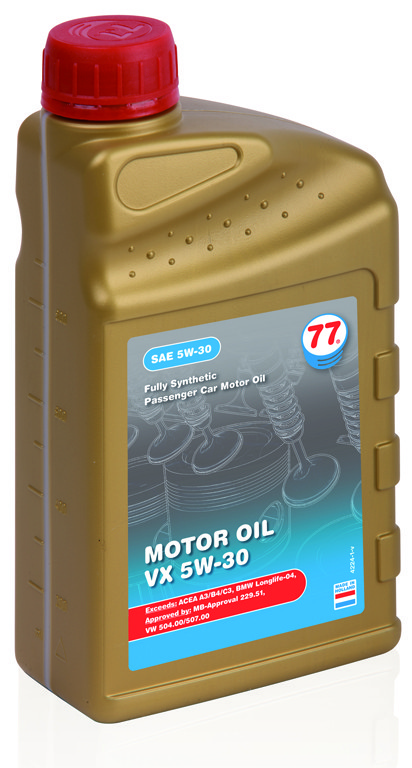 Motor Oil VX 5W-30 (VW 504.00/507.00) (кан. 4 л)