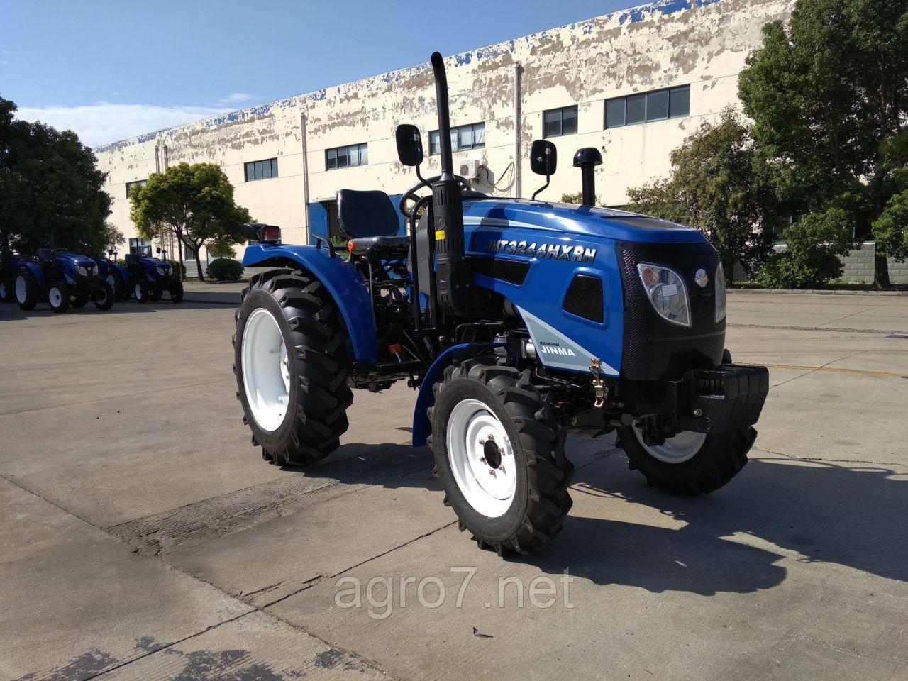 Трактор JINMA JMT3244HXRN (реверс, 3 цил., 24л.с., ГУР, КПП(16+4),2019г)