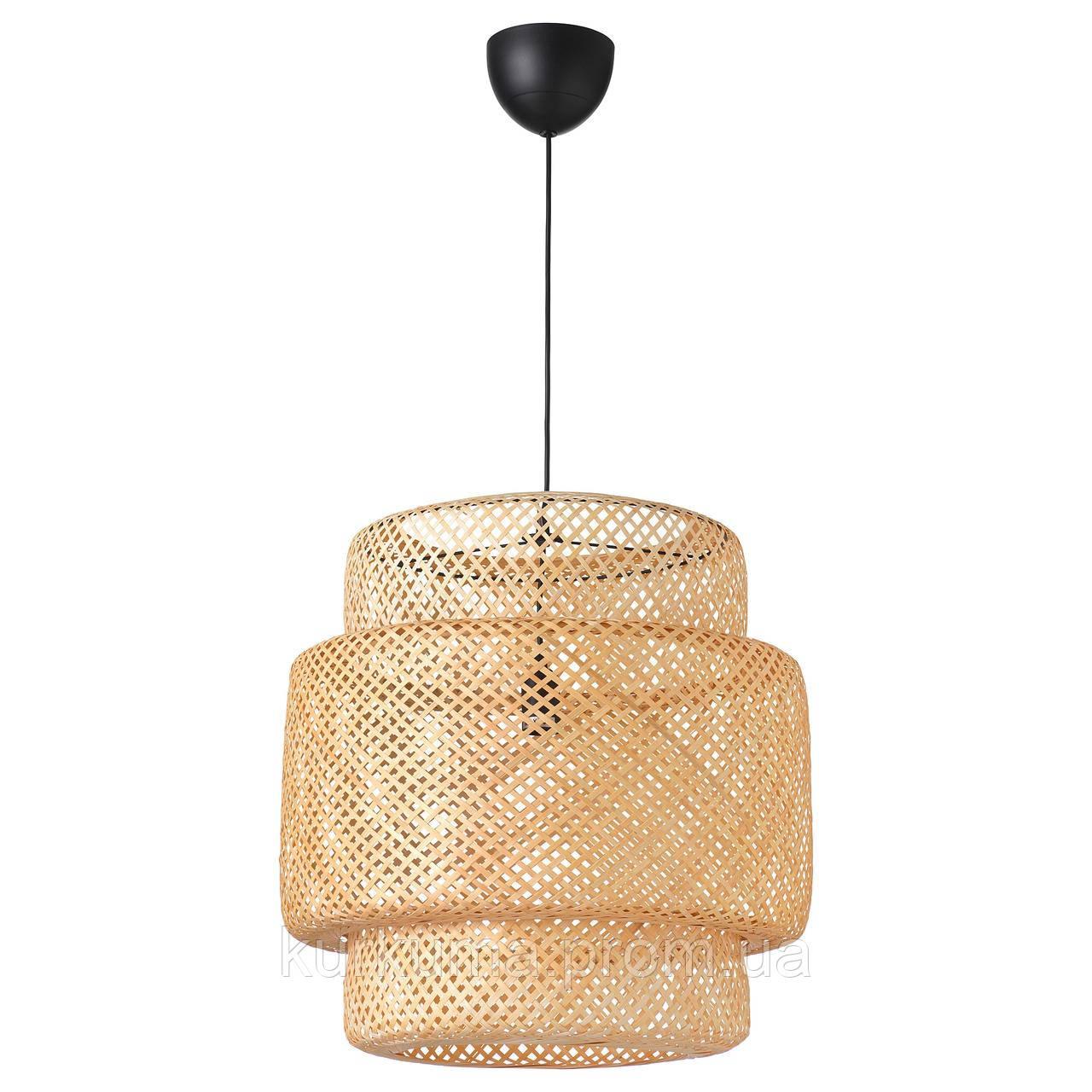 IKEA SINNERLIG Подвесной светильник, бамбук  (703.116.97)