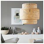 IKEA SINNERLIG Подвесной светильник, бамбук  (703.116.97), фото 4