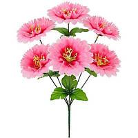 Букет искусственных цветов Мальва , 40 см