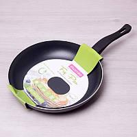Алюминиевая сковорода с антипригарным покрытием и пластиковой ручкой Ø30 см Kamille 0630IND