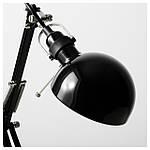 IKEA FORSA Наcтольная лампа, черный  (001.467.76), фото 6