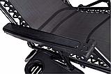 Кресло лежак ACTIVE раскладное для сада и пляжа, фото 9