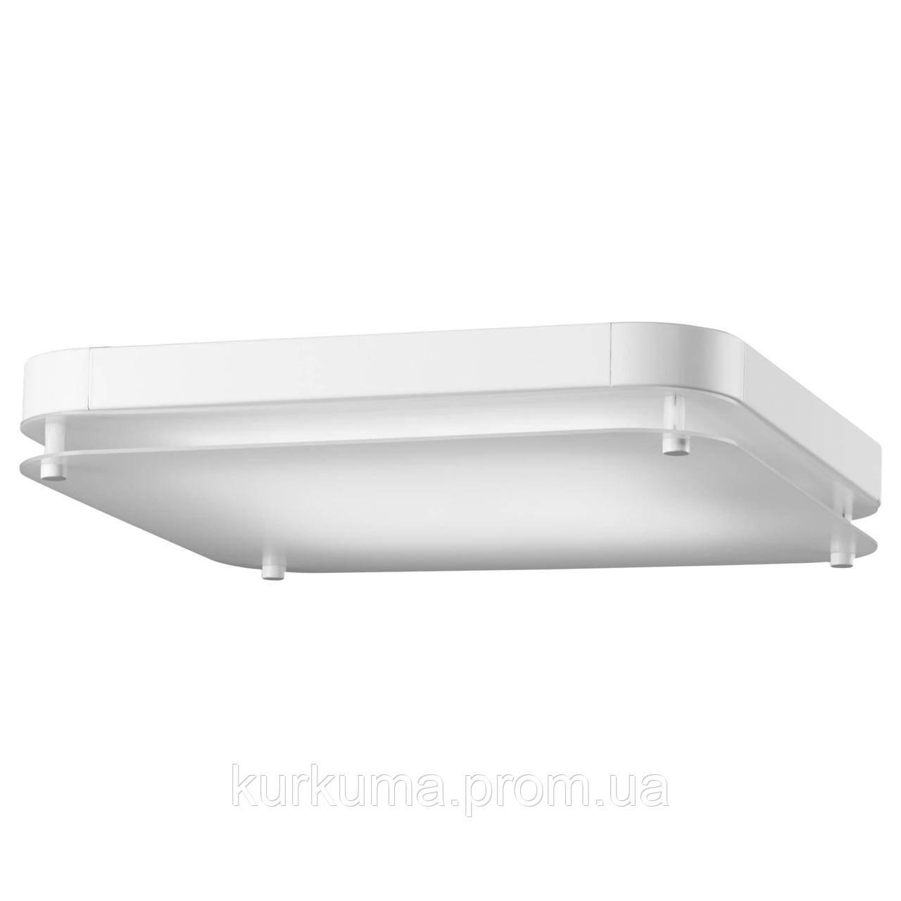 IKEA LEVANG Светодиодный подвесной светильник, квадратная, белая  (203.495.27)
