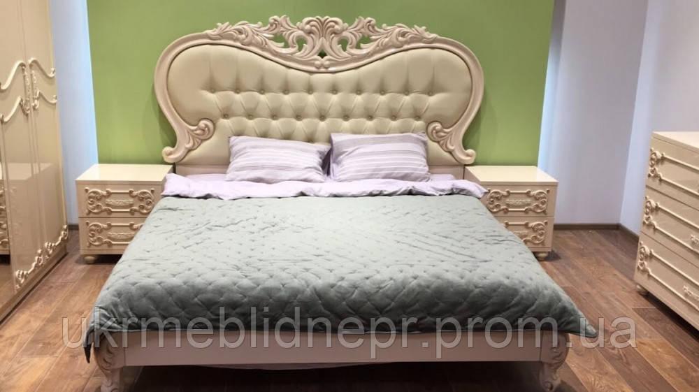 Ліжко Лючія MW 1800 (крем)