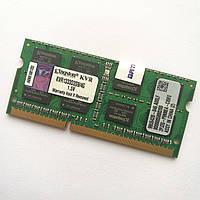 Оперативная память для ноутбука Kingston SODIMM DDR3 4Gb 1333MHz 10600s CL9 (KVR1333D3S9/4G) Б/У, фото 1