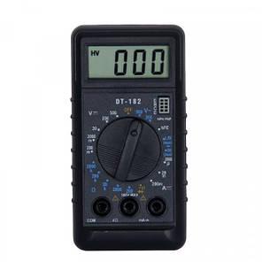 Мультиметр цифровий Digital DT-182, фото 2