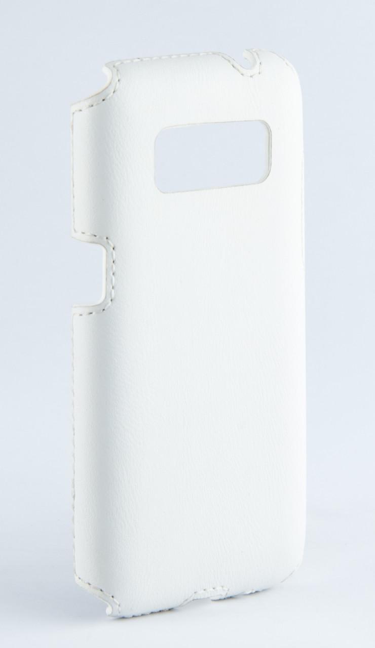 Накладка кожаная Florence Samsung Galaxy Core Prime G360/G361 белая