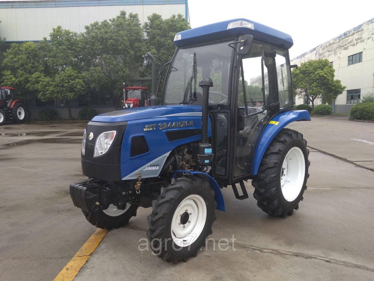 Трактор с доставкой JMT3244HXCN (24 л.с, 4×4, ГУР) 2019г.