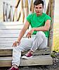 Мужские спортивные штаны с манжетом, фото 4