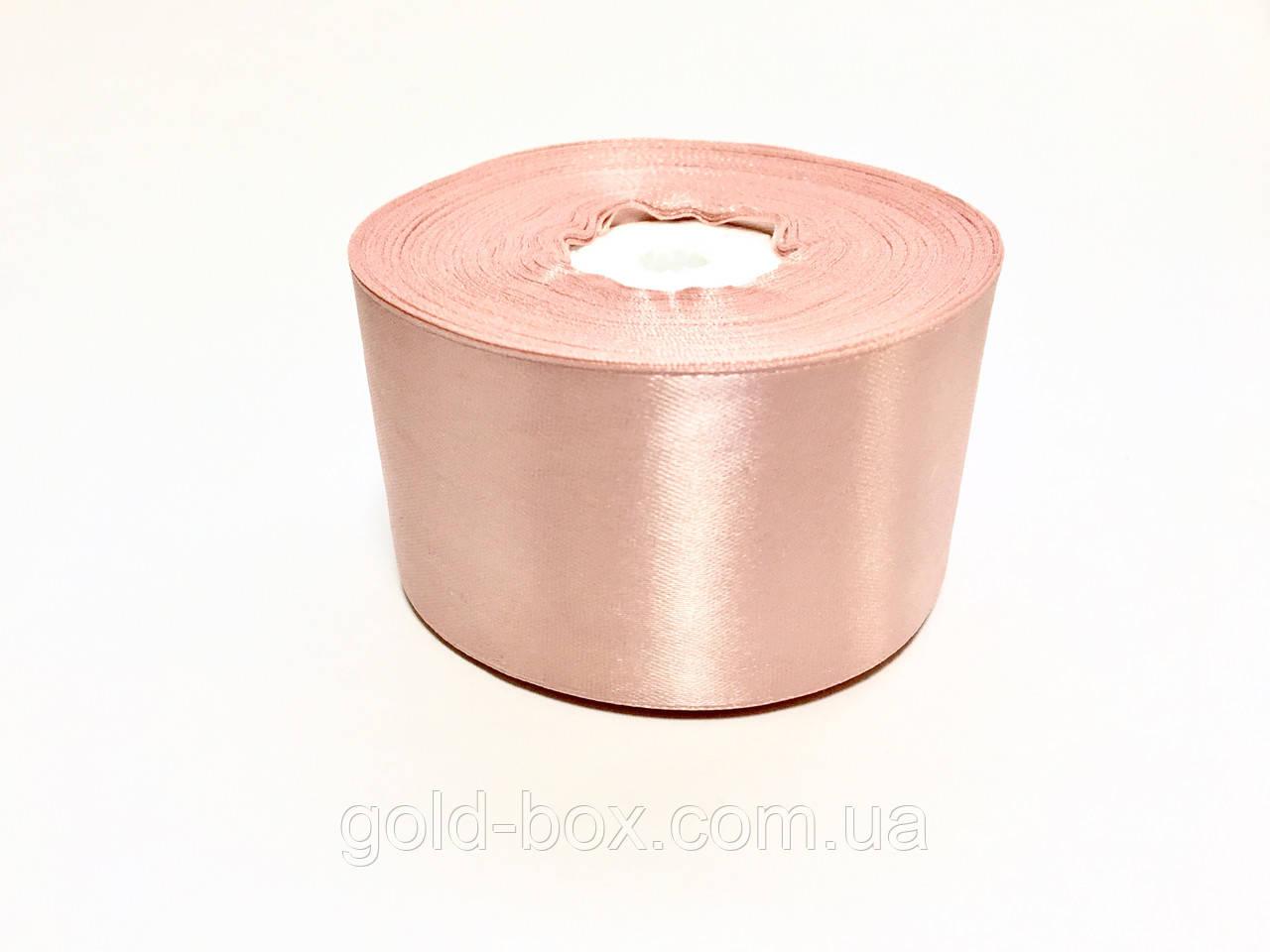Лента атласная 5,0см / 33 метра «Королевский розовый »