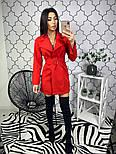 Женское платье-пиджак, в расцветках, фото 5