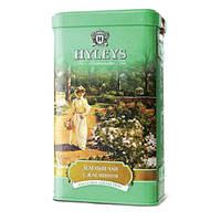 Hyleys Английский зеленый чай с жасмином. 125 г, ж/б