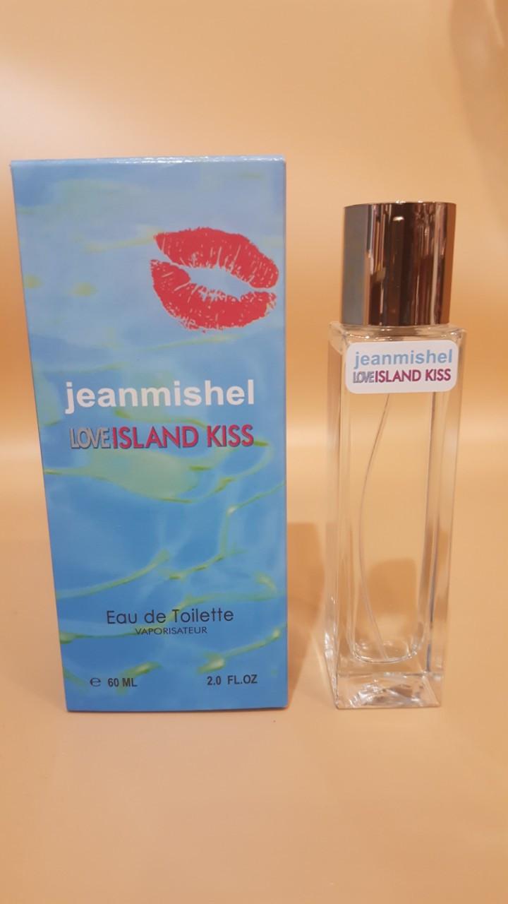 Love ISLAND KISS JEANMISHEL  eau de toilette  60 ml