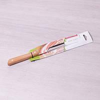 Нож кухонный для костей из нержавеющей стали с деревянной ручкой